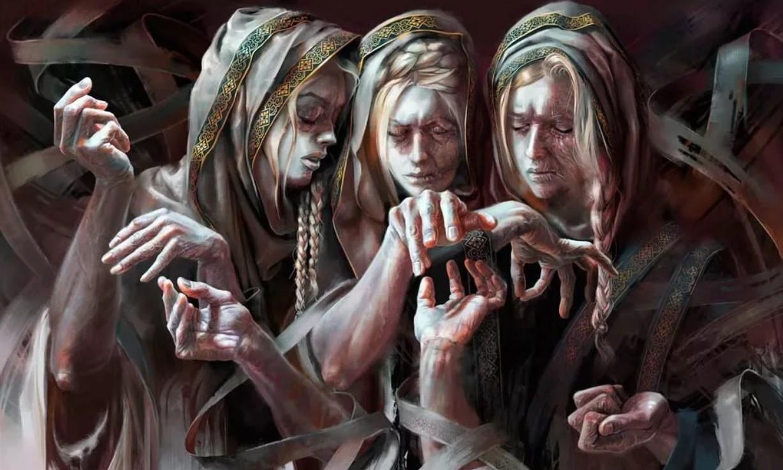 Три богини судьбы - три норны