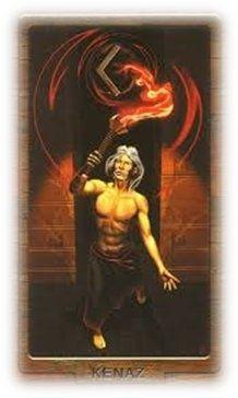 Руна Кано в мифологии